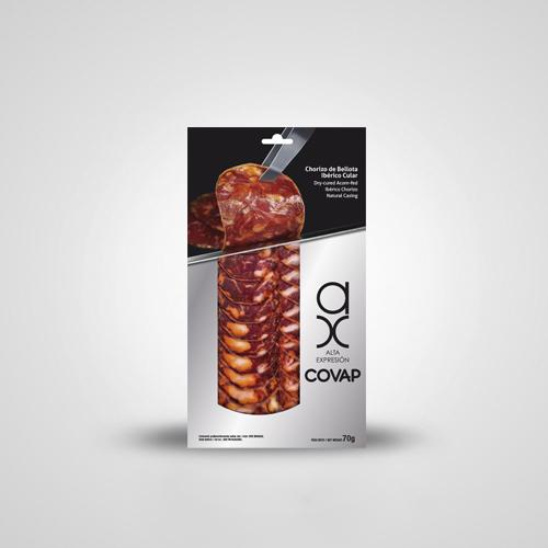 Chorizo de Bellota Ibérico Alta Expresión [Loncheado] | Ibéricos COVAP